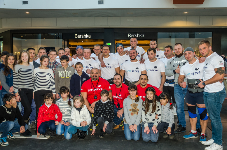 100 children from orphanages and needy families visited Amatour Strongmen League
